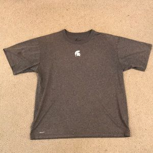 Nike Michigan State Spartans DriFit Team Issued T